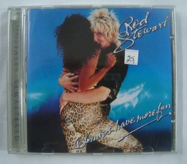 CD Rod Stewart - Blondes have more fun