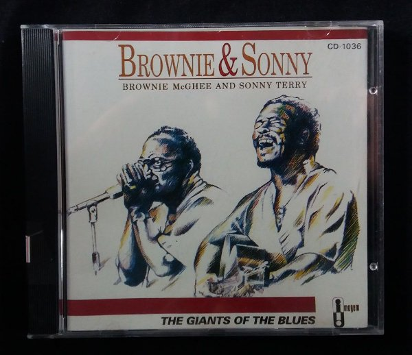 CD Brownie & Sonny - The Giants of the Blues