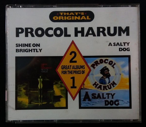 CD Procol Harum - 2 em 1 - A salty dog + Shine on brightly - Importado