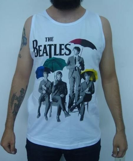 Camiseta regata - The Beatles