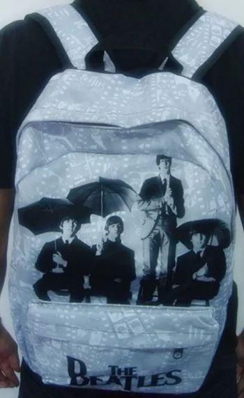 Mochila Escolar - The Beatles