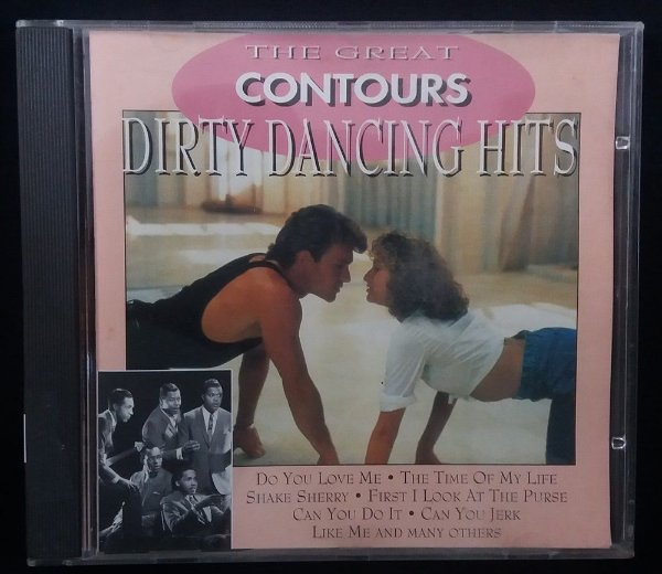 CD The Great Contours - Dirty Dancing Hits