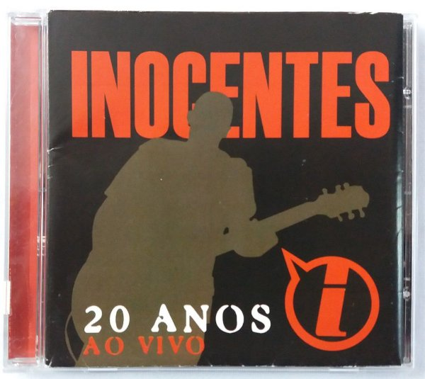 CD Inocentes - 20 anos ao vivo