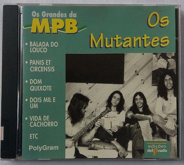 CD Os Mutantes - Os Grandes da MPB