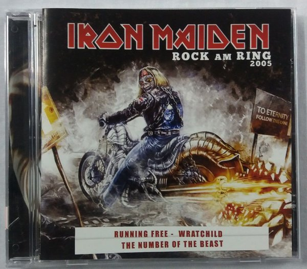 CD Iron Maiden - Rock am Ring - 2005