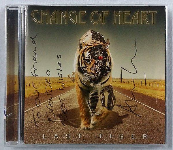 CD Change of Heart - Last Tiger - Autografado