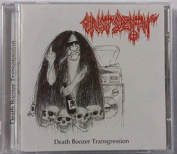CD Christ's Death - Death Boozer Transgression