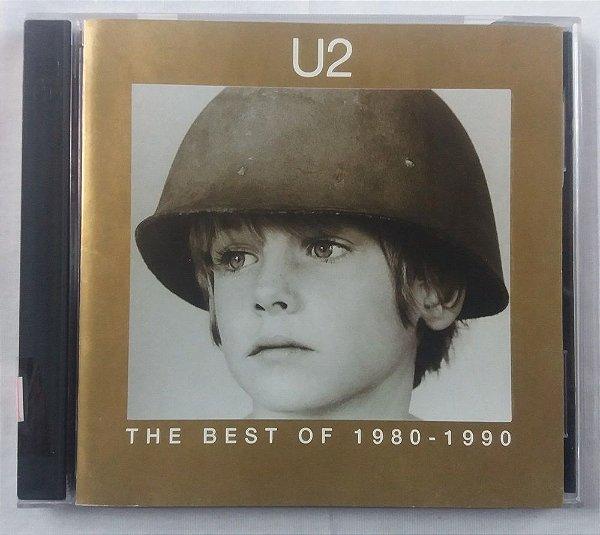CD U2 -The Best of 1980-1990 - Duplo