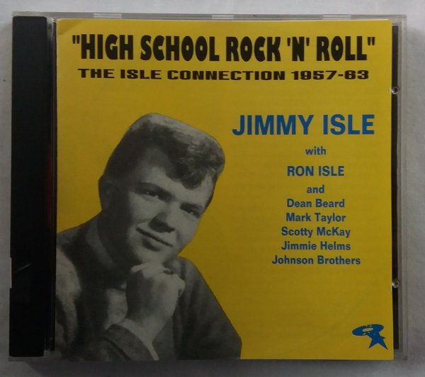 CD Jimmy Isle - High School Rock n Roll - Importado