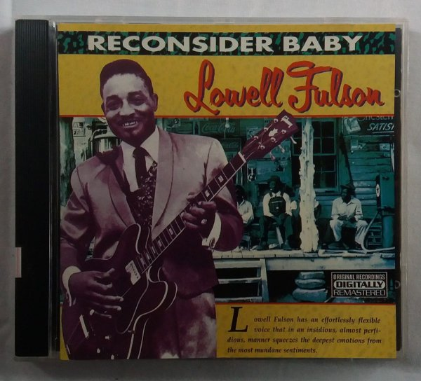 CD Lowell Fulson - Reconsider Baby