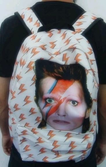 Mochila Escolar - David Bowie