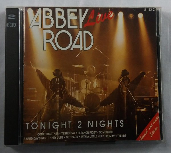 CD The Beatles - Abbey Road - Tonight 2 Nights