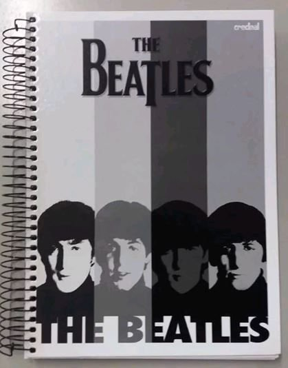 Caderno escolar - The Beatles