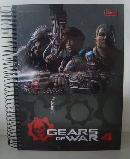 Caderno escolar Gears of War 4 #2