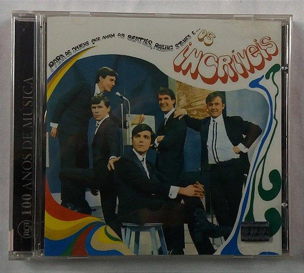 CD Os Incríveis - Para os jovens que amamos Beatles, Rolling Stones e...