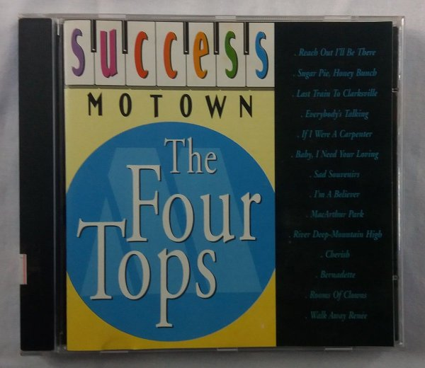 CD The Four Tops - Success Motown