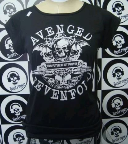 Baby look Avenged Sevenfold - Your future is set forever