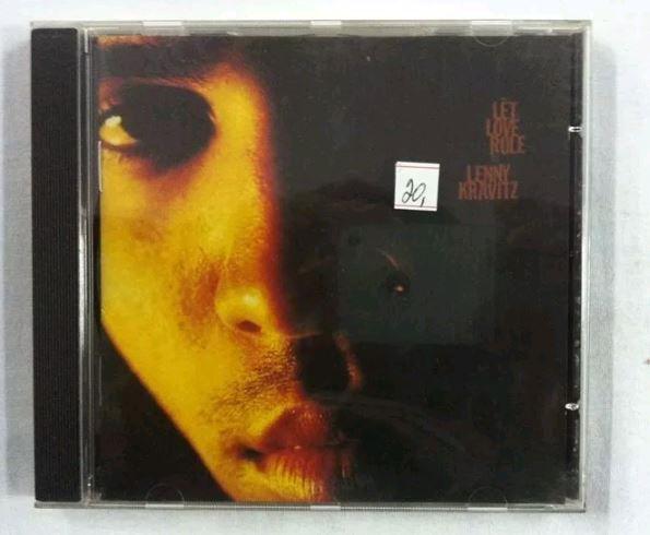 CD Lenny Kravitz - Let Love Rule