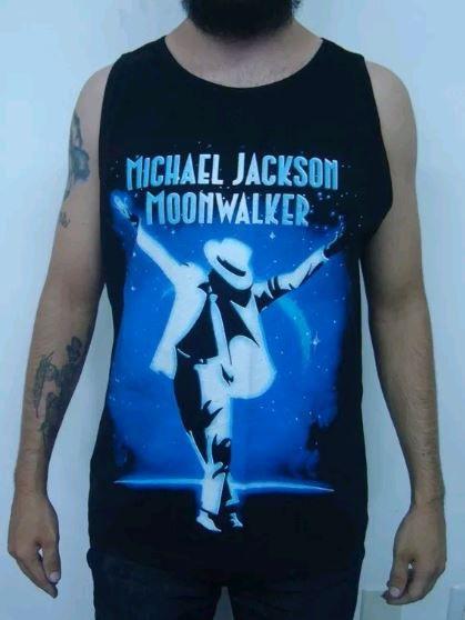 Camiseta Regata Michael Jackson - Moonwalker