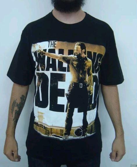 Camiseta The Walking Dead - Rick