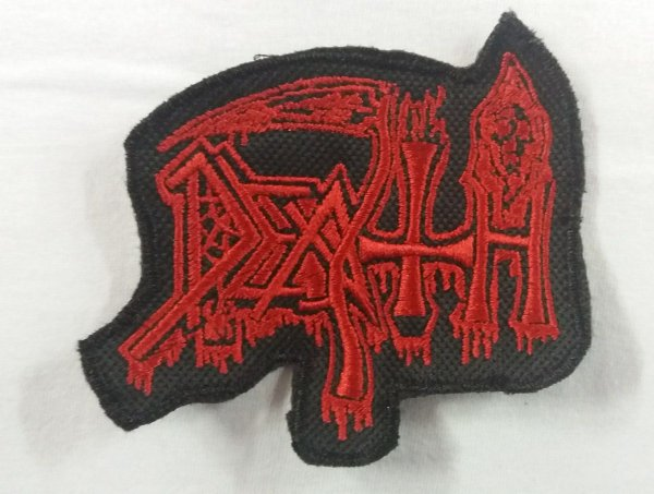 Patch bordado - Death