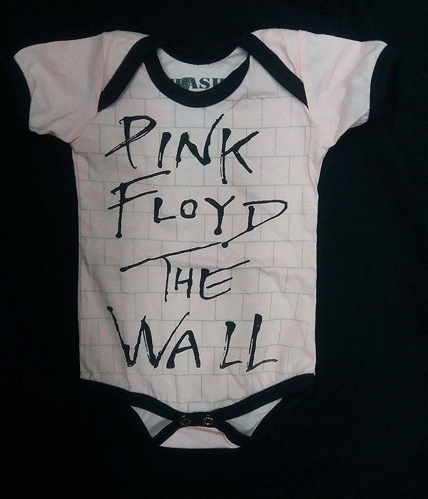 Body para bebês - Pink Floyd - The Wall Rosa