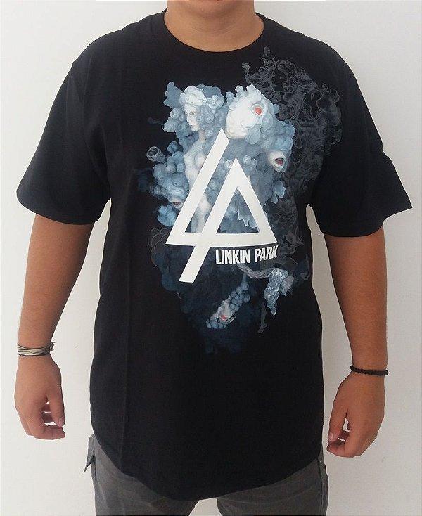 Camiseta Linkin Park - Black tea