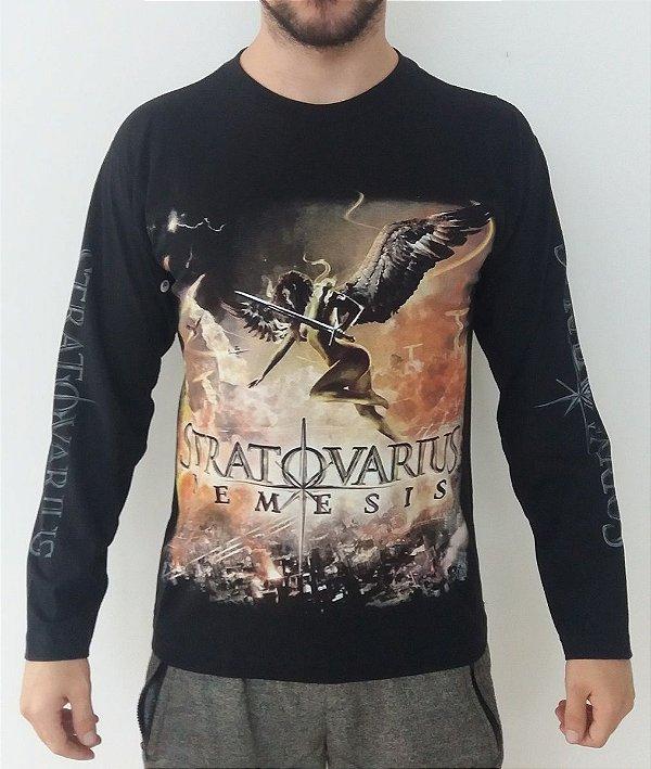 Camiseta manga longa Stratovarius - Nemesis