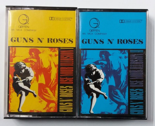 Fita Cassete Guns and Roses - Use your illusion 1 e 2