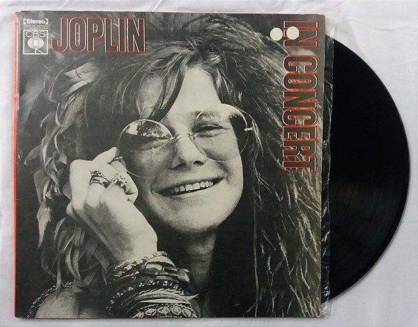 Disco de Vinil - Janis Joplin - in Concert - Duplo