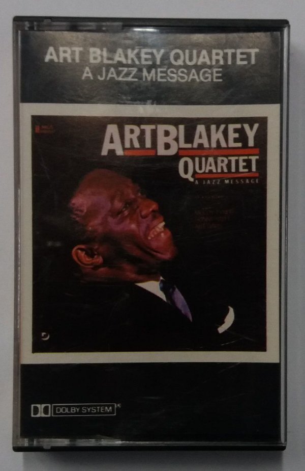 Fita Cassete Art Blakey Quartet - a Jazz Message