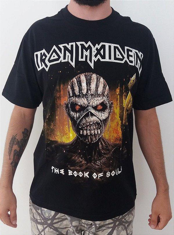 Camiseta Iron Maiden - The Book of Souls (blacktea)
