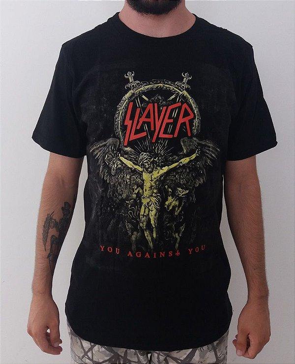 Camiseta Slayer - You against you