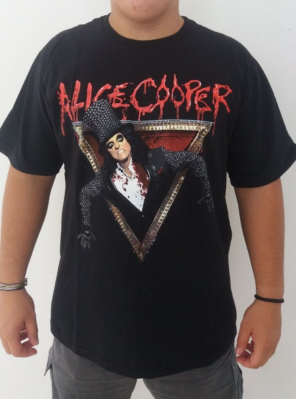 Camiseta Alice Cooper - Welcome 2 My Nightmare
