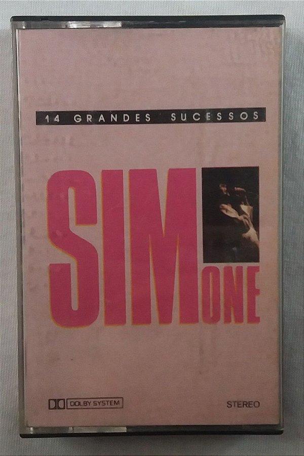 Fita Cassete Simone - 14 grandes sucessos