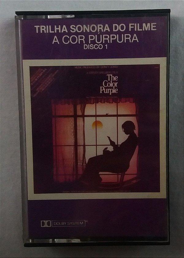 Fita Cassete A cor púrpura - Trilha sonora do Filme