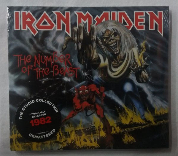 CD Iron Maiden - The Number of the Beast