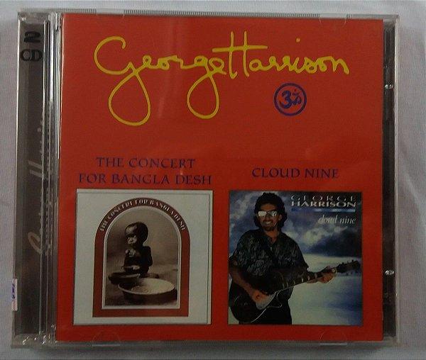 CD George Harrison - The concert for Bangla Desh + Cloud Nine - Duplo importado