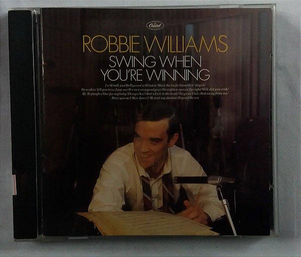 CD Robbie Williams - Swing When You're Winning