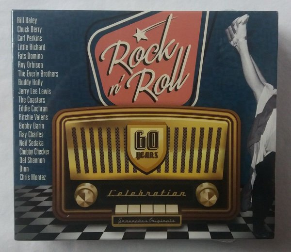 Box 3 CDs - Rock and Roll - 60 Years Celebration