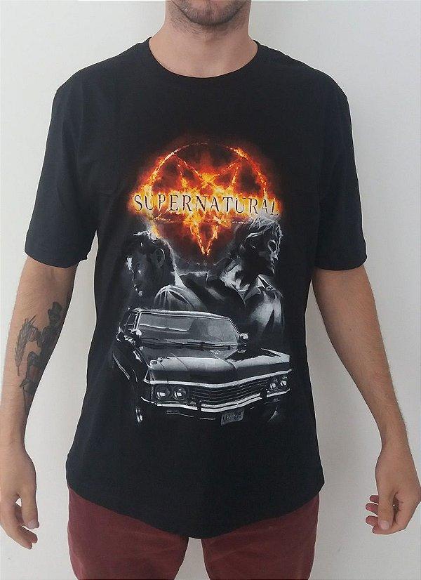Camiseta Supernatural - Impala