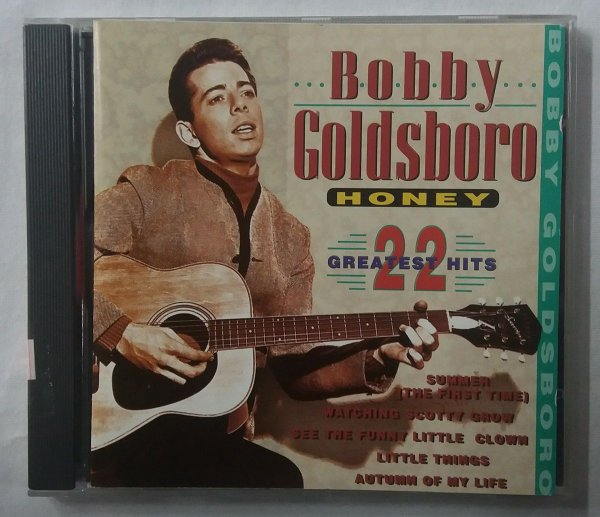 CD Bobby Goldsboro - Honey - 22 greatest hits