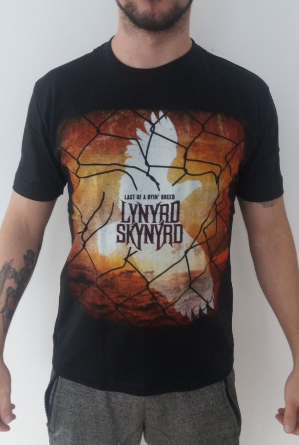 Camiseta Lynyrd Skynyrd  - Last Of A Dyin' Breed