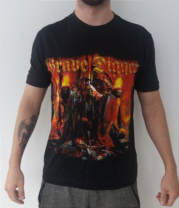 Camiseta Grave Digger - Liberty Or Death