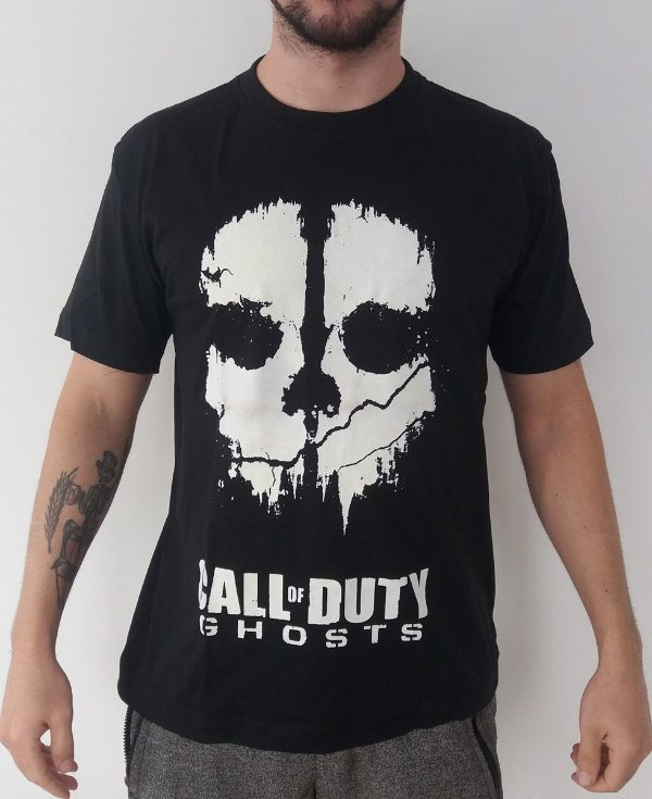 Camiseta Call of Duty - Ghosts