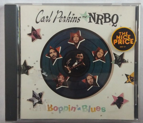 CD Carl Perkins And NRBQ - Boppin The Blues