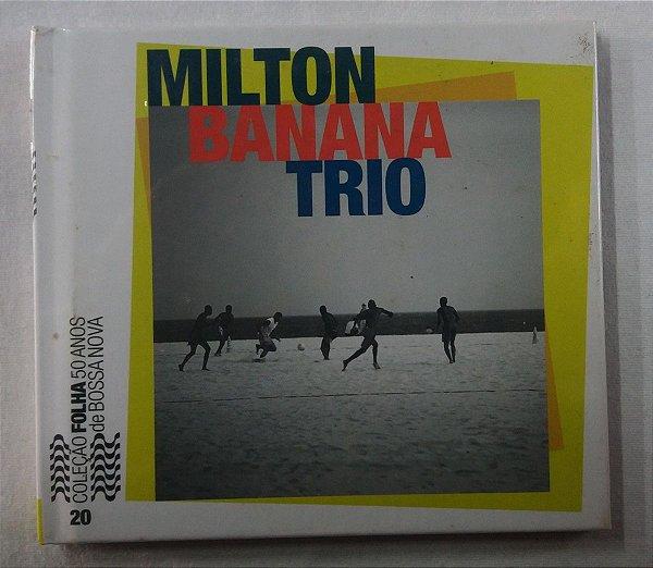 Cd Milton Banana Trio - Coleção Folha Bossa Nova 20