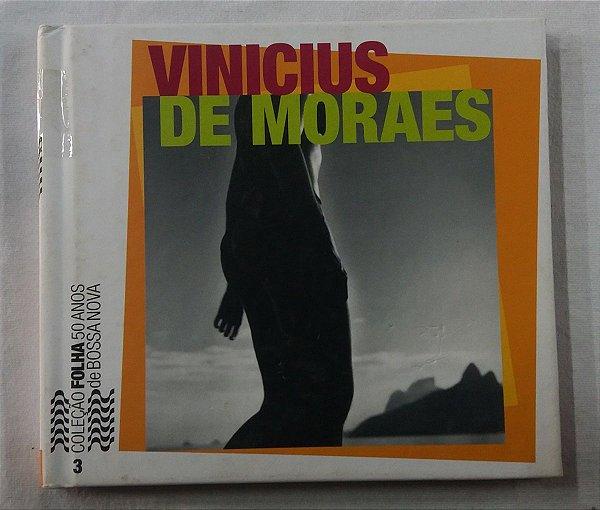 CD Vinicius De Moraes Coleção Folha Sp 50 Anos Bossa Nova vol 3