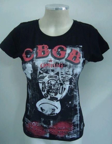 Baby Look Feminina - Cbgb & Omfug Punk Rock Shows