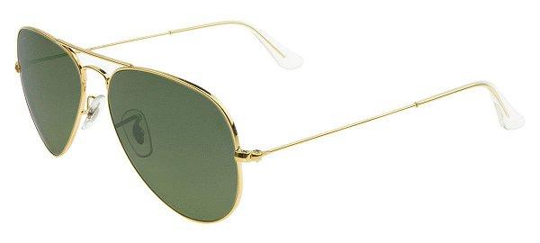 Óculos de sol Ray-Ban Aviador Pequeno RB3025 W3234 55